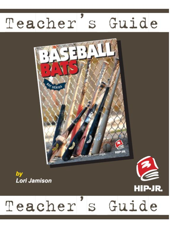 Baseball Bats – Teacher's Guide (BATS Series)