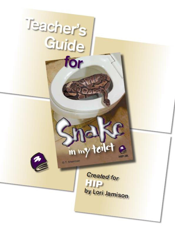 Snake in My Toilet – Teacher's Guide