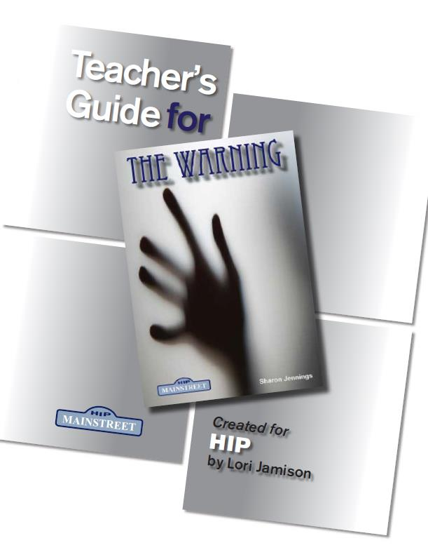 The Warning – Teacher's Guide