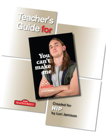 You Can't Make Me – Teacher's Guide