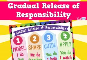 Gradual Release Responsibility