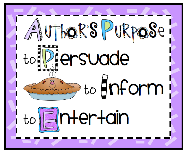Author S Purpose Posters Worksheets for all | Download and Share ...
