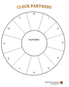 Clock partner image